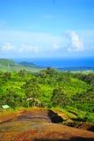 Couleurs de DES de Vallee, Îles Maurice 1 Photographie stock