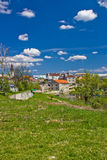Couleurs de Gospic, capitale de Lika Images libres de droits