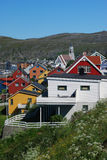 Couleurs de Hammerfest Photo stock
