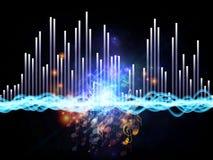 Couleurs de la musique Image libre de droits