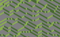 Couleurs de Pantone de la verdure 2017 de concept sur le gris Illustration Stock