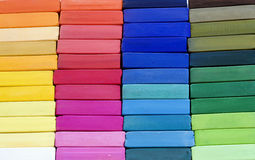 Couleurs de pastels douces Photos stock
