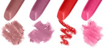 Couleurs de rouge à lèvres Image libre de droits