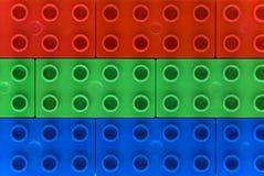 Couleurs de RVB - Lego Photos stock