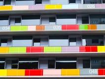 Couleurs de terrasses Photographie stock libre de droits
