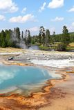 Couleurs de Yellowstone Photos libres de droits