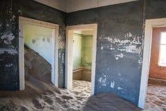 Couleurs des salles d'arc-en-ciel Photo libre de droits