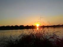 Couleurs et coucher du soleil Photos libres de droits