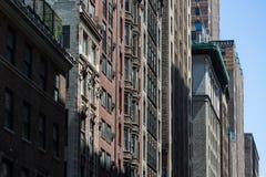 Couleurs et petits groupes de New York Photos libres de droits