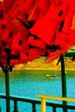 Bateaux sur la baie de Buzios Photo libre de droits