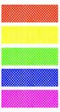 Couleurs lumineuses de modèle de maille pour la décoration Avec le chemin de coupure Image libre de droits