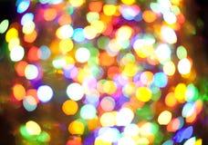 Couleurs lumineuses de Noël photos stock