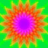 Couleurs multi abstraites de poly art pour le fond, couleurs géométriques d'effet de remous, style hypnotique de papier peint d'a illustration libre de droits