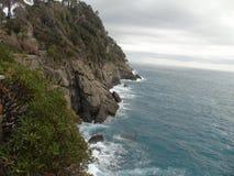 Couleurs sur la mer dans Portofino Images stock