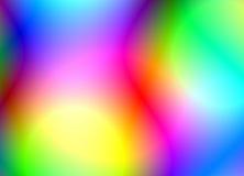 Couleurs vibrantes lumineuses Image libre de droits