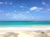Couleurs vives sur la plage de Kailua Images libres de droits