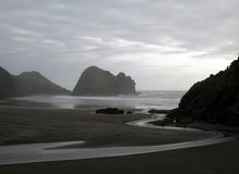 Coulez circuler dans l'océan Photos libres de droits