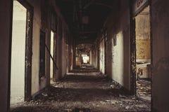 Couloir abandonné Photo libre de droits