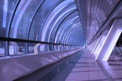 Couloir au centre de bureau Image libre de droits
