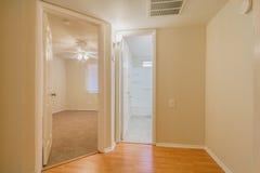Couloir avec des angles Photo stock