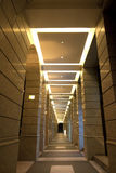 Couloir avec des voûtes Images stock