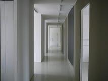 Couloir blanc Photo stock