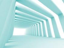 Couloir brillé illustration stock