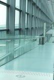 Couloir d'aéroport Image libre de droits