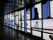 Couloir d'arts de DES d'endroit d'art de Digital Photos libres de droits