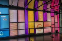 Couloir d'arts de DES d'endroit d'art de Digital Photographie stock