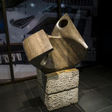 Couloir d'arts de DES d'endroit de sculpture Photo stock