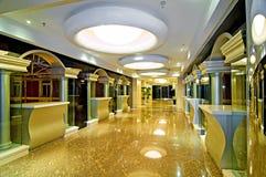 Couloir d'hôtel Photographie stock