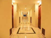 Couloir d'hôtel de luxe Photo libre de droits