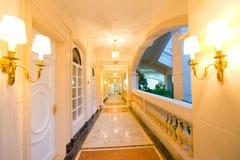 Couloir d'hôtel Photo stock