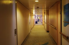 Couloir d'hôtel Images stock