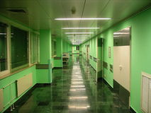 Couloir d'hôpital Photo stock