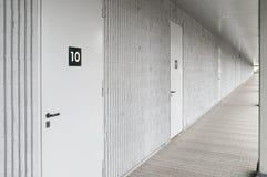 Couloir d'unités de stockage Photos libres de droits