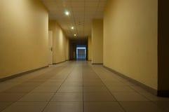 Couloir d'université Photo stock