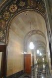 Couloir dans la ville hôtel de Buffalo Image stock
