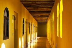 Couloir dans le Berber Kasbah photo libre de droits