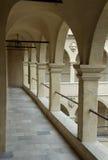 Couloir dans le château Photographie stock libre de droits