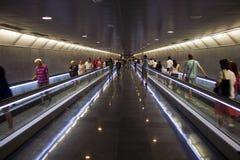 Couloir dans le souterrain Images libres de droits