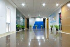 Couloir de bureau Image libre de droits