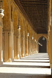 Couloir de cour de mosquée Images stock