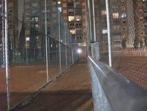 Couloir de court de tennis photo libre de droits