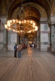 Couloir de Haghia Sophia image libre de droits