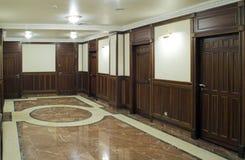 Couloir de la maison vivante Images stock