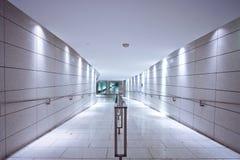 Couloir de laboratoire Photos libres de droits