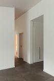 Couloir de maison moderne Photographie stock