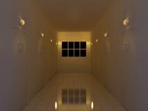Couloir de nuit Photos libres de droits